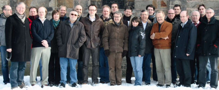 Group image of professors of the Computer Science Department