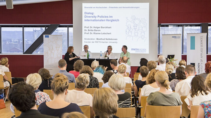 Podiumsdiskussion mit Auditorium